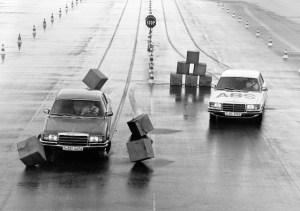 ABS en función 1978 Mercedes-Benz