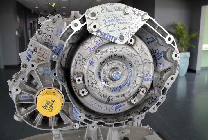 Chrysler inicia la producción de la transmisión de nueve velocidades
