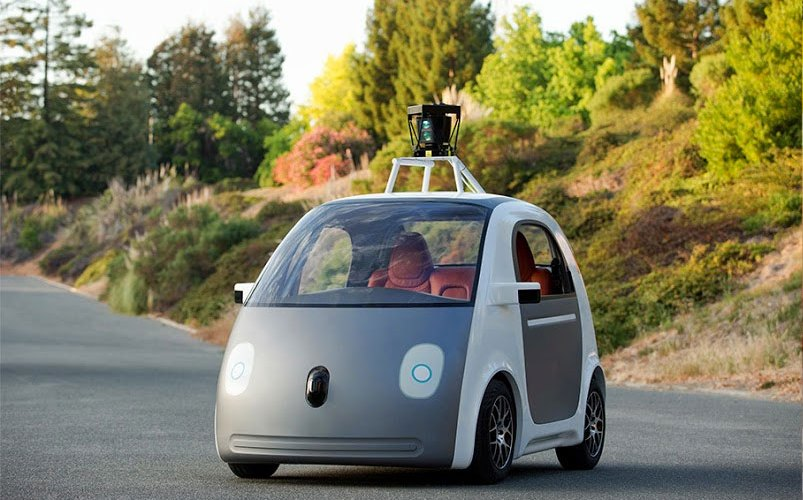 Google presenta su vehículo autónomo