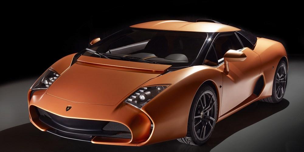 Lamborghini 4-95 por Zagato