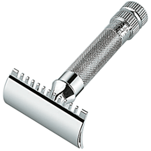 merkur 11C open comb HD safety razor large