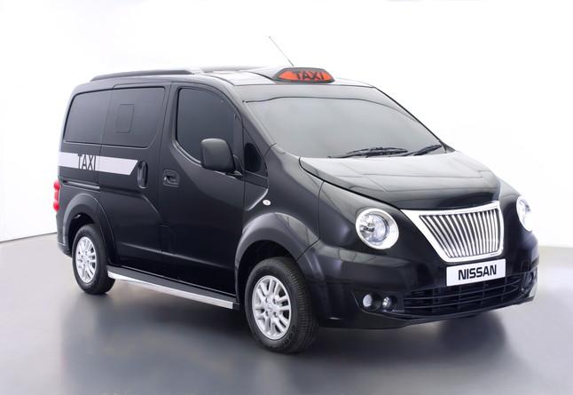 Los taxis londinenses Nissan tendrán tecnología cero emisiones