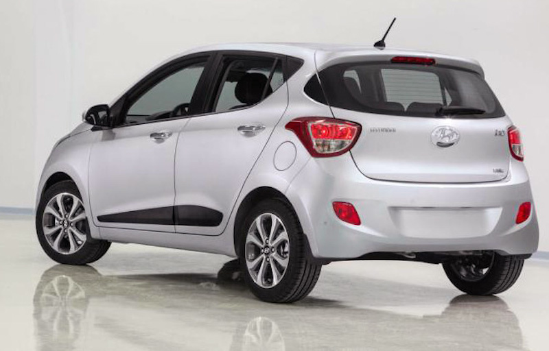Hyundai Grand i10 blanco