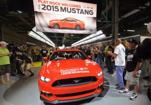 2015 Ford Mustang Begins Production at Flat Rock Assembly Plant