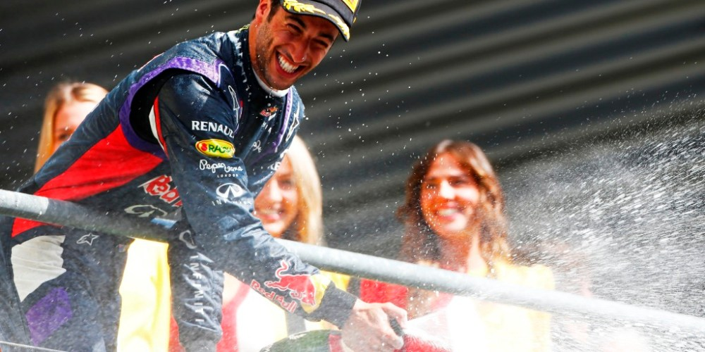 Daniel logra sensacional victoria en Spa