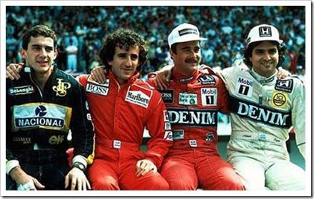 #MartesDeMachine – Los machines de las pistas. F1 Nigel Mansell