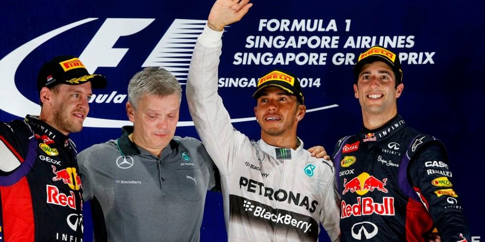 Lewis Hamilton gana y recupera el liderato en el campeonato