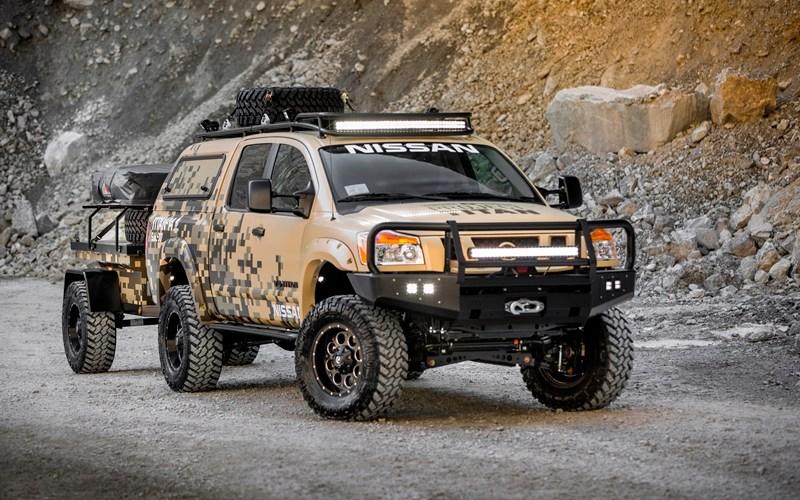 Nissan Titan está lista para su aventura por Alaska