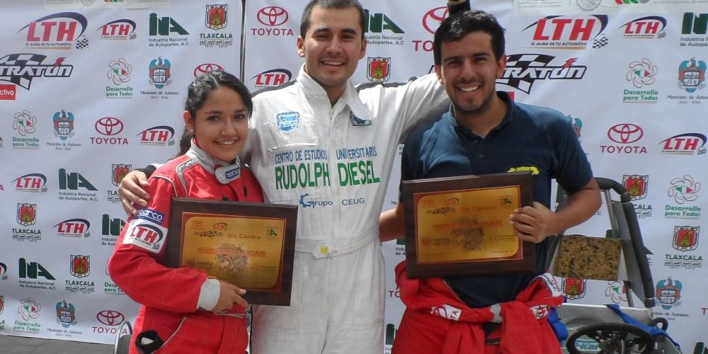 Gana Pedro Osuna la quinta carrera del Electratón en Apizaco