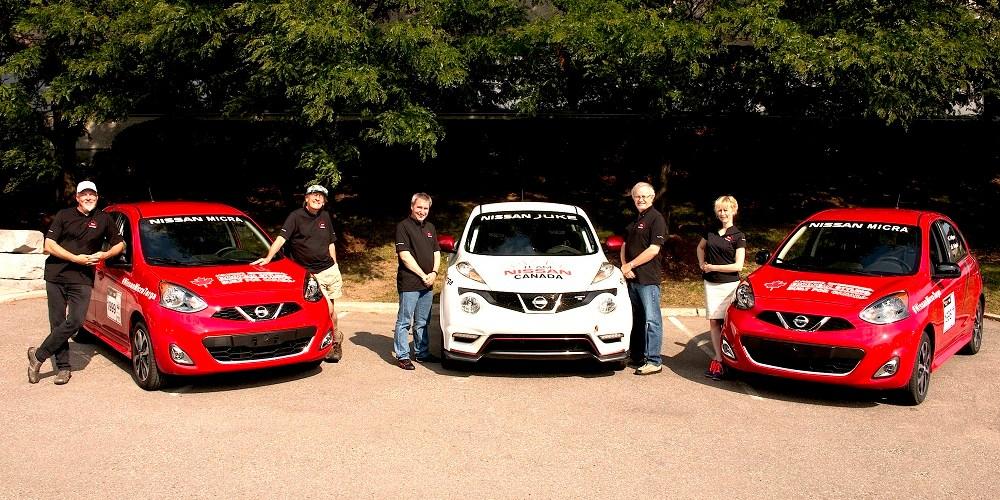 Nissan Micra participará en el rally Targa Newfoundland 2014 en Canadá