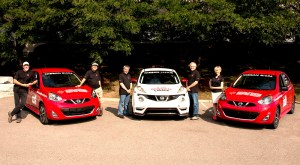 NISMO-RS JUKE, sporty Micras comprise Team Nissan Canada for Tar