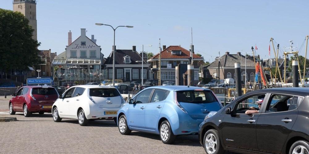 Nissan LEAF lanza el programa insular más grande de vehículos compartidos