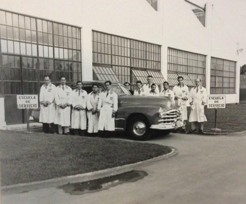 Inicios del Centro de Capacitación Técnica General Motors