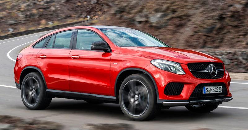 Detroit 2015, Mercedes-Benz GLE Coupé