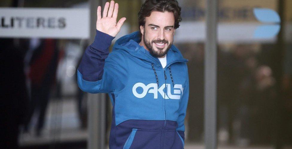 Declaraciones de Alonso después del accidente