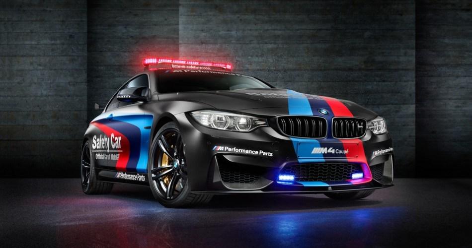 El nuevo BMW M4 Coupé será el Safety Car de MotoGP