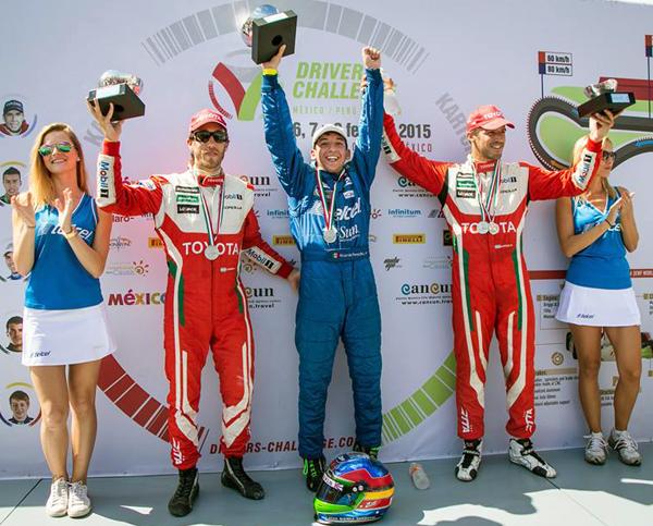 Pepe Sierra, campeón del Drivers Challenge en Cancún