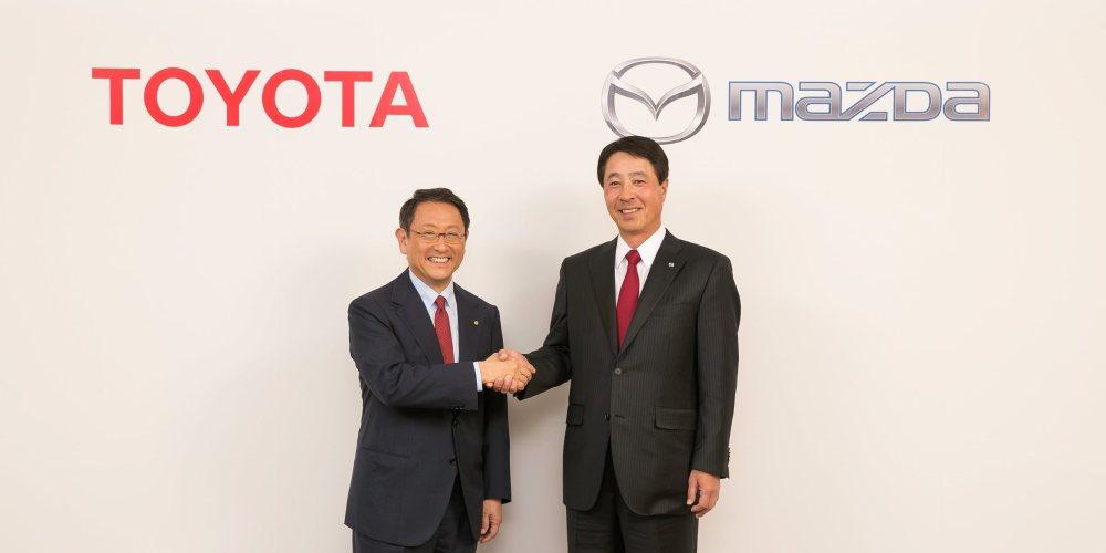 Nuevo acuerdo entre Mazda y Toyota