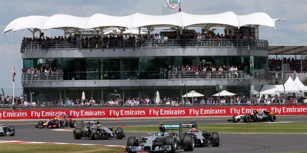 El Gran Premio de Gran Bretaña, el premio de casa para varios pilotos