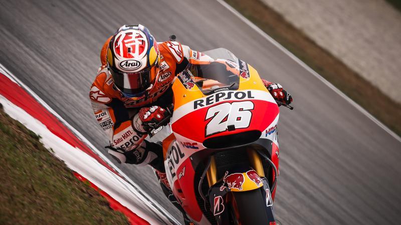 Pedrosa consigue la pole position para el Gran Premio de Malasia