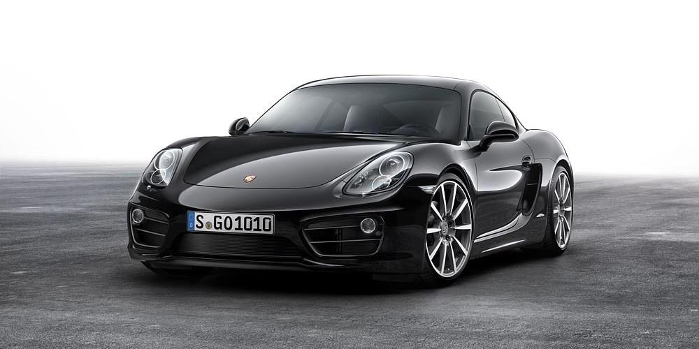 ¿Does it come in black? Porsche Cayman Black Edition