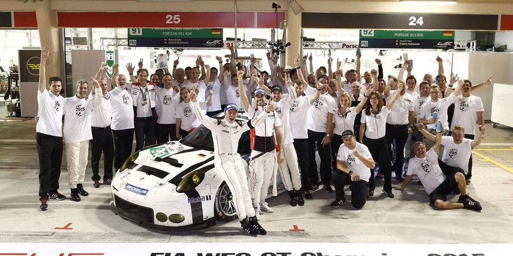 Brillante final de la temporada para Porsche: cuarta victoria y tres títulos