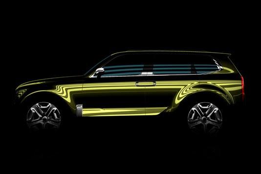 KIA nos presentará un concepto de SUV grande en Detroit