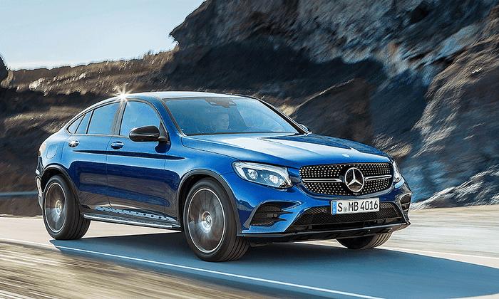AUTOSHOW DE NUEVA YORK 2016: Mercedes Benz GLC Coupé