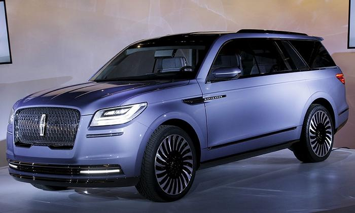 AUTOSHOW DE NUEVA YORK 2016: Lincoln Navigator Concept
