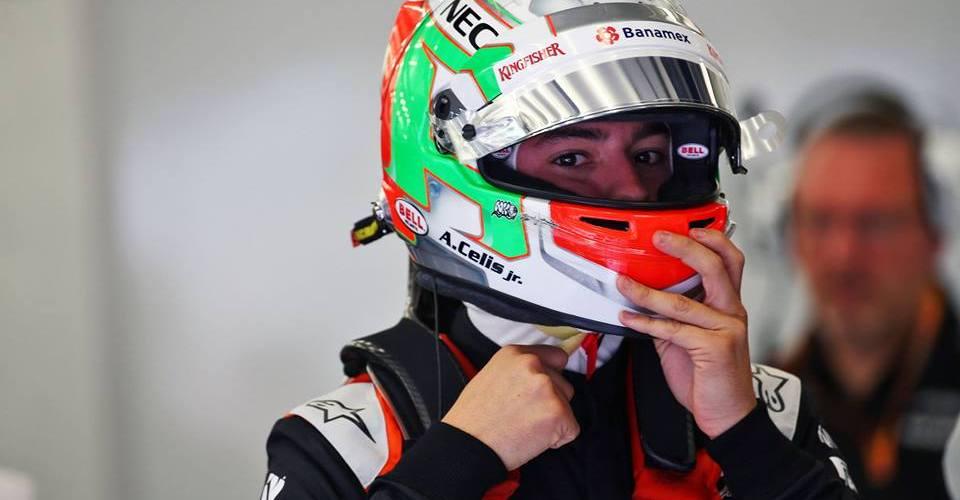 Alfonso Celis Jr hace su debut en la F1