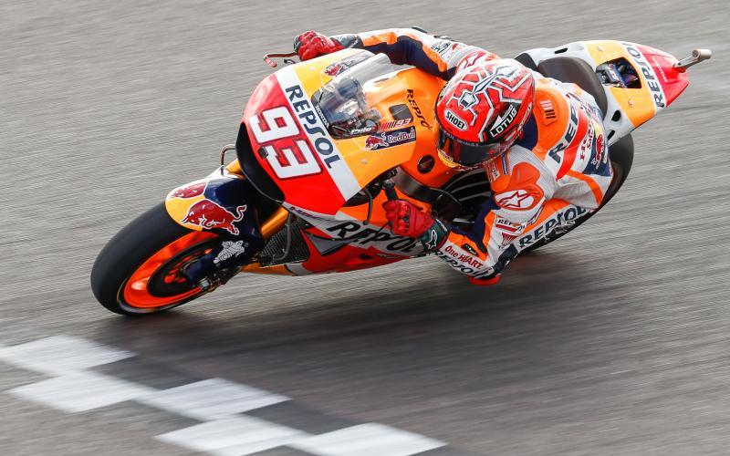 Márquez consigue la pole position en Termas de Río Hondo