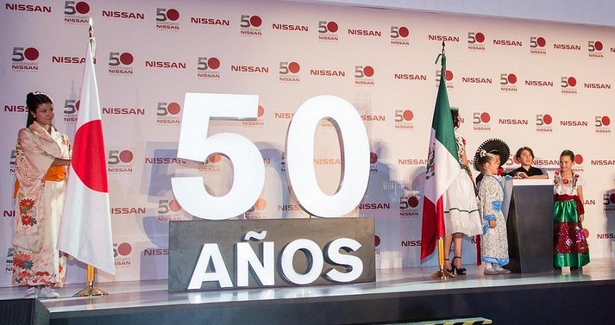 Nissan y 50 años de la Planta en CIVAC, ¡Felicidades!