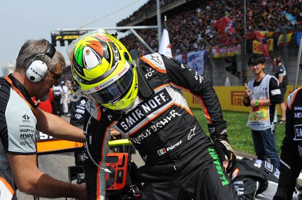 Sergio Pérez de cara a su Gran Premio numero 100