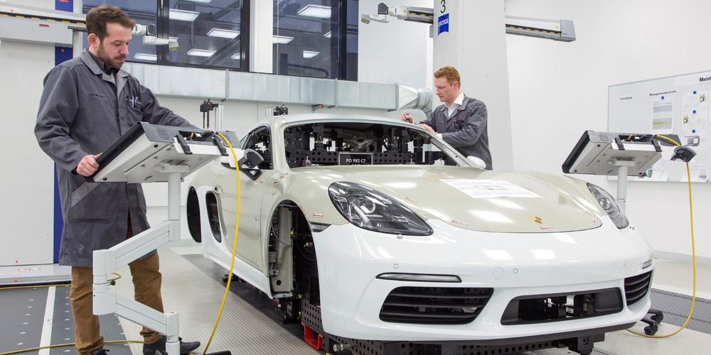 Porsche destaca su calidad de producción en 4 pilares
