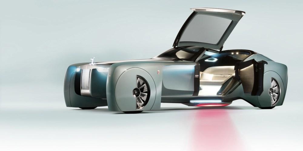 Rolls-Royce Vision Next 100 Concept ¿Te gusta?