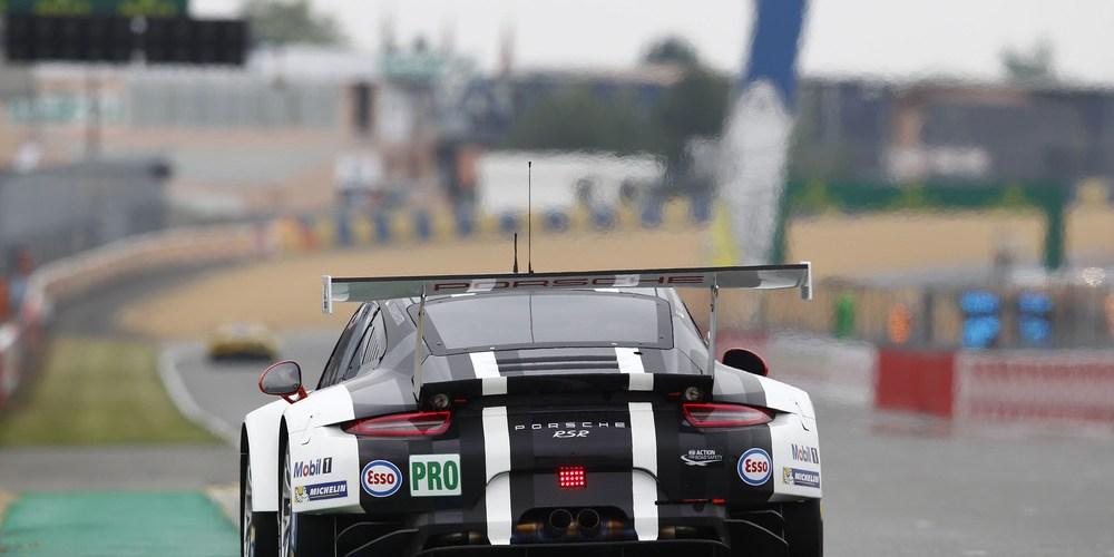 Porsche 911 RSR también está listo para Le Mans