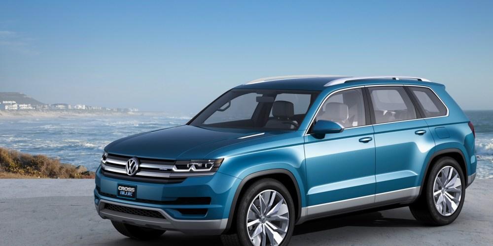 El nuevo crossover de Volkswagen se llamará: Atlas