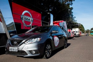 New Nissan Sentra takes part in Torch Relay across the country a