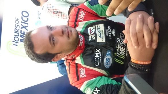 Ricardo González pole WEC 3