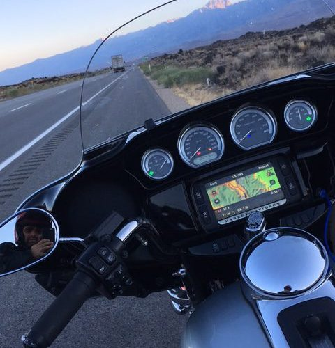 Nueva suspensión touring en Harley-Davidson: Yosemite-Death Valley