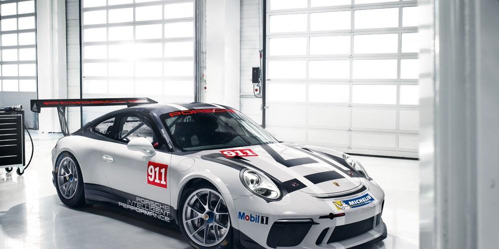 Auto Show de París: Porsche 911 GT3 Cup