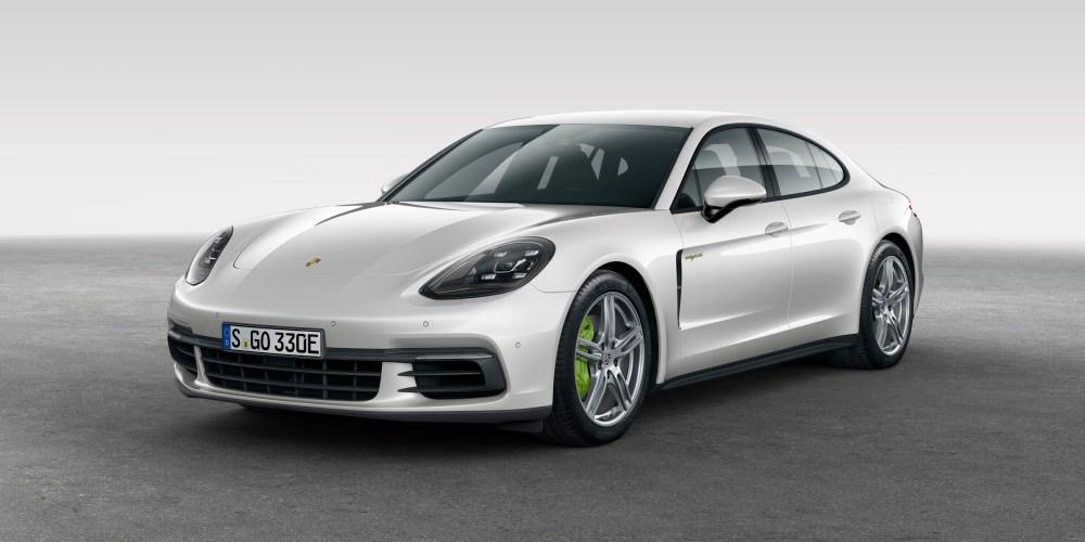 Porsche Panamera 4 E-Hybrid en París
