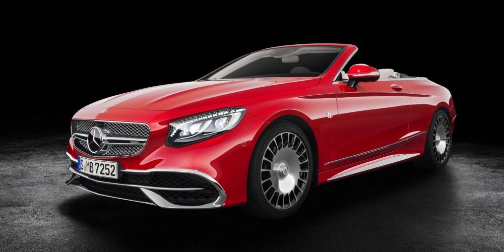 Auto Show de Los Ángeles 2016: Mercedes-Maybach S60 Cabriolet