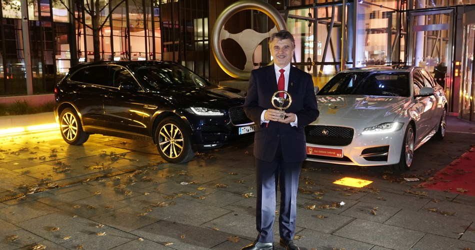 Jaguar XF gana el Golden Steering Wheel al mejor sedán