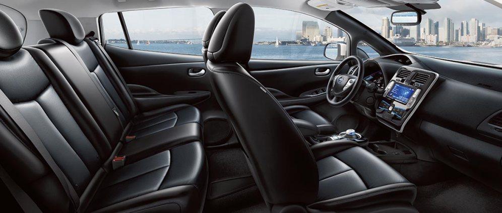 La nueva ola de autos eléctricos Nissan Leaf 3