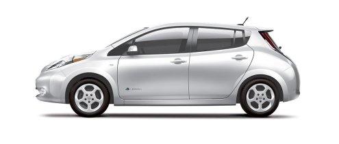 La nueva ola de autos eléctricos Nissan Leaf 5