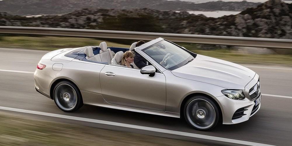 Auto Show de Ginebra: Mercedes-Benz E-Class Cabriolet 2018