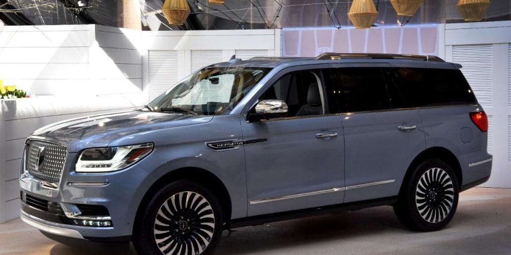 Auto Show de Nueva York 2017: Lincoln Navigator 2018