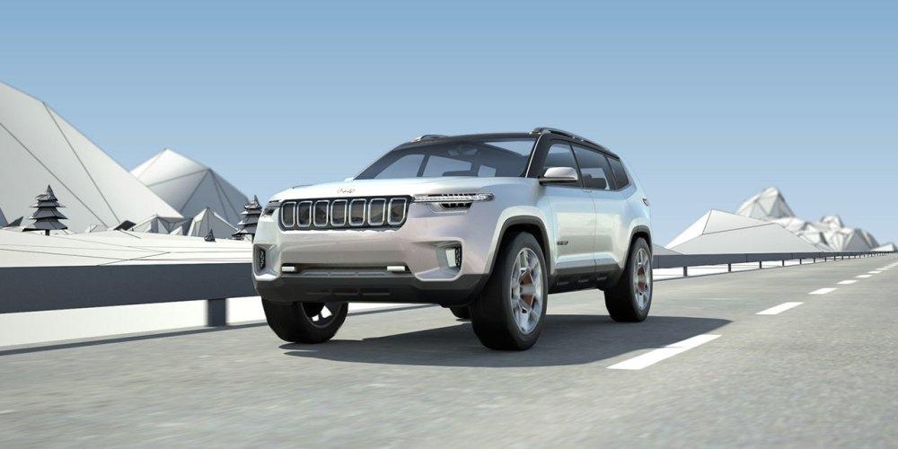Auto Show de Shanghái 2017: Jeep Yuntu