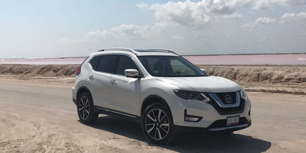 test drive de nissan x trail 2018 memo lira. Black Bedroom Furniture Sets. Home Design Ideas